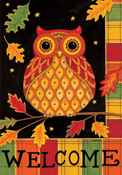 FallSale- Welcome Owl