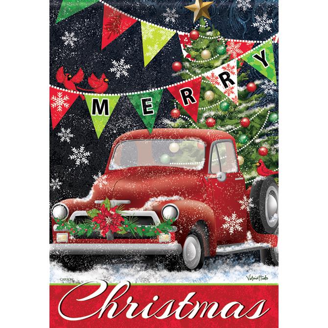Christmas Red Truck.Christmas Red Truck Christmas