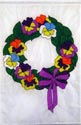 Flowers - Pansy Wreath