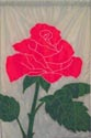 Flowers - Rose on Grey