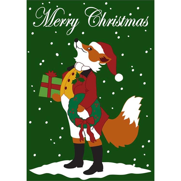 christmas garden flags. Christmas - Snooty Fox Garden Flags L